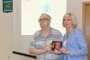 Памятную медаль к 100-летию СЖР получил ветеран журналистики Илья Липин из ЕАО