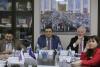 Журналисты - члены СПЧ  включались в традиционный разговор с Президентом из центрального офиса СЖР