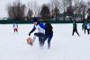 Липецкая область: мини-футбол на снегу на призы районной газеты «Звезда»