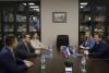 Встреча председателя СЖР Владимир Соловьёва и мэра Сочи Алексея Копайгородского