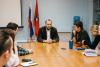 Студенческие СМИ Москвы и секретарь СЖР Роман Серебряный обсудили безопасность представителей медиа на митингах