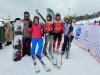 Сборная команда Союза журналистов Челябинской области впервые выступила на Кубке губернатора области по горнолыжному спорту
