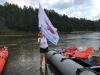 Челябинская область: Журналисты сплавились по горной реке Ай и убрали мусор на стоянке «диких» туристов