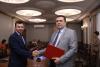 Владимир Соловьёв встретился с заместителем главы администрации Липецкой области Александром Рябченко