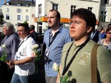 Делегация руководителей СЖР приняла участие в акции памяти журналистов, погибших при исполнении служебных обязанностей