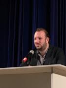Секретарь СЖР Роман Серебряный провел мастер-класс для участников Открытого фестиваля Юных журналистов Москвы