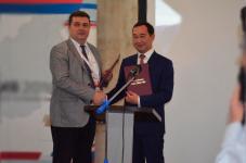 Владимир Соловьёв поздравил Айсена Николаева с Днём национальной печати Якутии