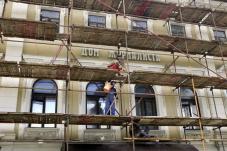 Первый этап реставрационных работ в Центральном доме журналиста