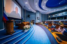 Секретарь СЖР Владимир Касютин отметил высокий уровень журналистских работ, участвовавших в конкурсе «Журналист года Югры»