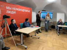 Секретарь СЖР Роман Серебряный провёл семинар для журналистов Всероссийского телевидения глухих