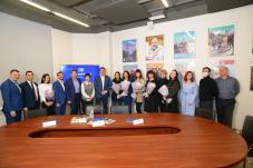 Владимир Соловьёв вручил удостоверения СЖР ростовским журналистам и дал интервью телеканалу «ДОН 24»