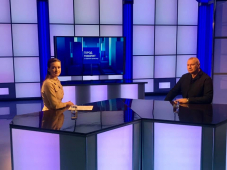 Секретарь СЖР Владимир Касютин принял участие в  конференции Пензенского  отделения Союза и стал гостем программы телеканала «Россия 24. Пенза».