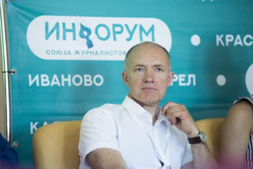 Поздравляем с днем рождения председателя Союза журналистов Орловской области Андрея Чернова!