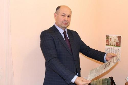 Поздравляем с юбилеем председателя Союза журналистов  Башкортостана Вадута Исхакова